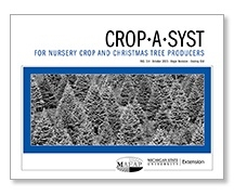 Crop *A* Syst for Nursery Crop and Christmas Tree Producers (FAS114)
