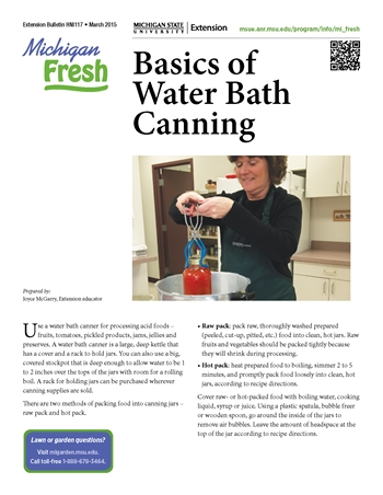 Michigan Fresh: Basic of Water Bath Canning (HNI117)
