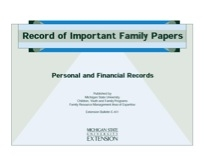 Record of Important Papers (E0451)
