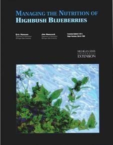 Managing the Nutrition of Highbush Blueberries (E2011)
