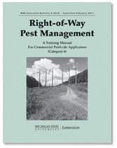 Right-of-Way Pest Management: Commercial Pesticide Applicators - Category 6 (E2043)