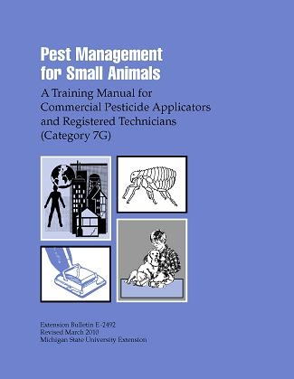 Pest Management for Small Animals: Commercial Applicators - Category 7G (E2492)