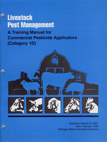 Livestock Pest Management: Training Manual for Commercial Applicators-Category 1D (E2601)