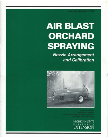 Air Blast Orchard Spraying (E2712)