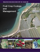 Fruit Crop and Ecology and Management (E2759)