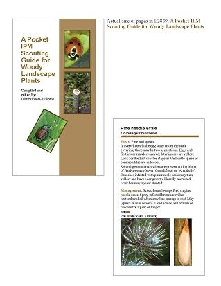 A Pocket Guide for IPM Scouting of Woody Landscape Plants (E2839)