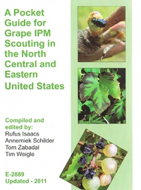 A Pocket Guide for Grape IPM Scouting of Grapes in North Central and Eastern U.S. (E2889)