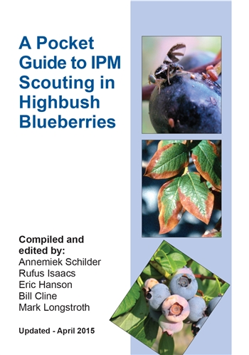 A Pocket Guide to IPM Scouting in Highbush Blueberries (E2928)