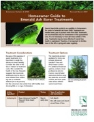 Homeowner Guide to Emerald Ash Borer Treatments (E2955)