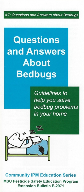 Questions and Answers about Bedbugs (E2971)