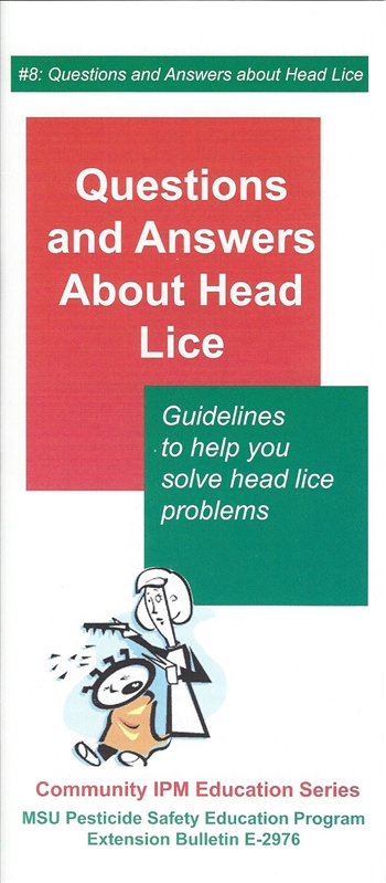 Question and Answers about Head Lice (E2976)