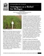 Switchgrass as a Biofuel for Michigan (E2987)