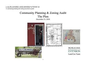 Planning and Zoning*A*Syst #2: Community Planning and Zoning Audit: The Plan (E3052)