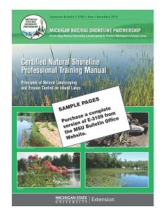 Certified Natural Shoreline Professional Training Manual (E3109)