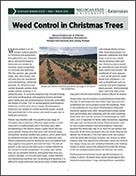 Weed Control in Christmas Trees (E3237)
