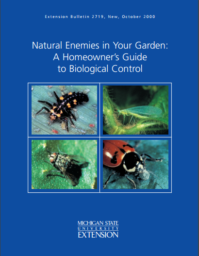 Natural Enemies in Your Garden: A Homeowner's Guide (E2719)