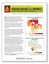 Climate Change and Wildfire in the Great Lakes Region (E3277)