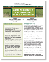 Costs and Returns for Producing Michigan Asparagus (E3315)