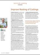 Improve rooting of cuttings
