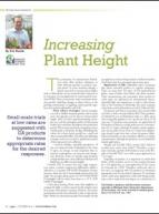 Increasing plant height
