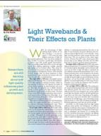 Light wavebands & their effects on plants