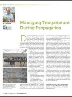 Managing temperature during propagation