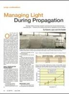 Managing light during propagation
