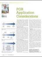 PGR application considerations