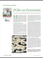 PGRs on perennials