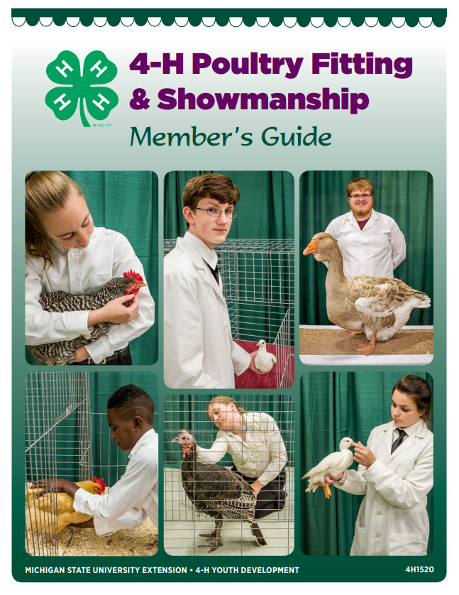 4-H Poultry Fitting & Showing Member's Guide (4H1520)