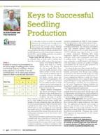 Keys to successful seedling production