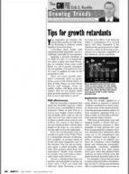 Tips for growth retardants