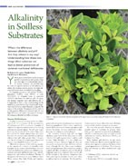 Alkalinity in Soilless substrates