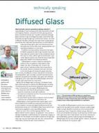 Diffused glass