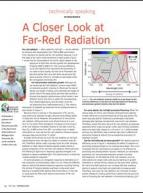 A closer look at far-red radiation